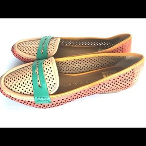 Dolce Vita Shoes - Dolce Vita Color Block  Womens perforated Loafers
